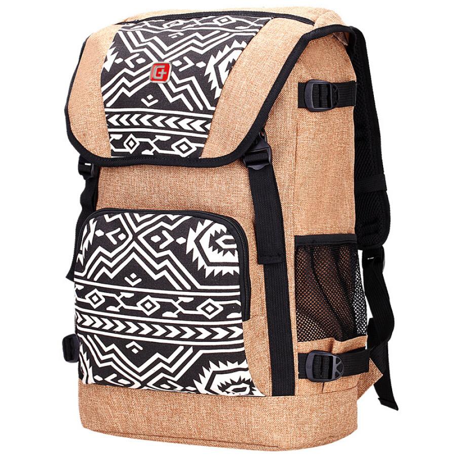 SVVISSGEM backpack Korean retro color beam shoulder bag men and women travel bag bag iPad bag SA-9890