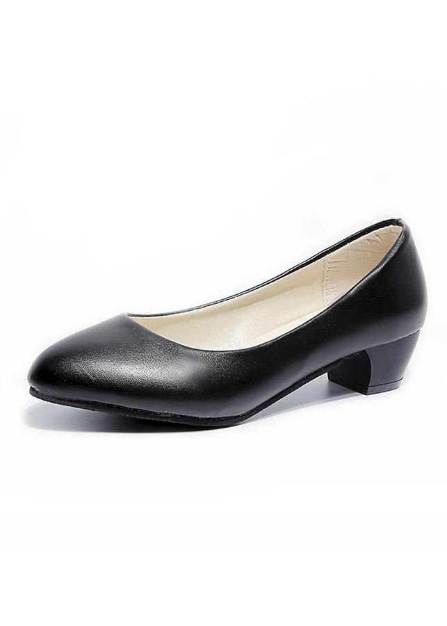 Giày cao gót siêu nhẹ kiểu dáng Hàn Quốc đế vuông 6322