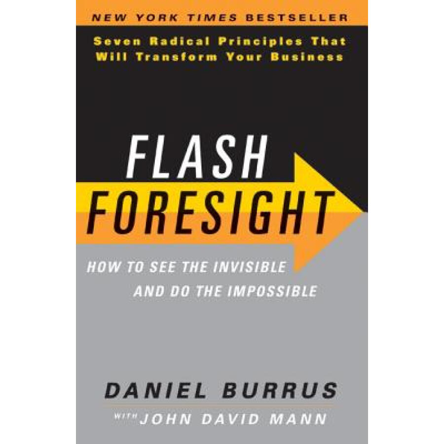Flash Foresight: How to See the Invisible and Do the Impossible - 1235179 , 4157325535413 , 62_5264129 , 586000 , Flash-Foresight-How-to-See-the-Invisible-and-Do-the-Impossible-62_5264129 , tiki.vn , Flash Foresight: How to See the Invisible and Do the Impossible