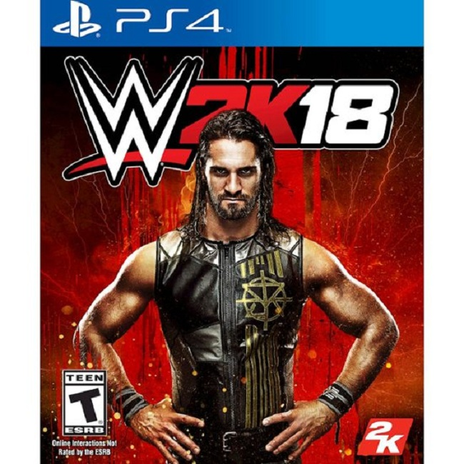 Đĩa Game Ps4: Wwe 2k18