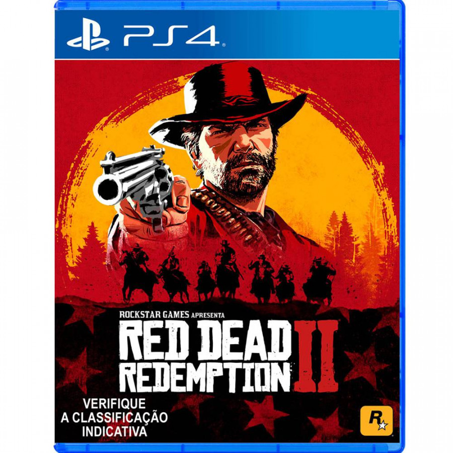 Đĩa Game Ps4: Red Dead Redemption 2