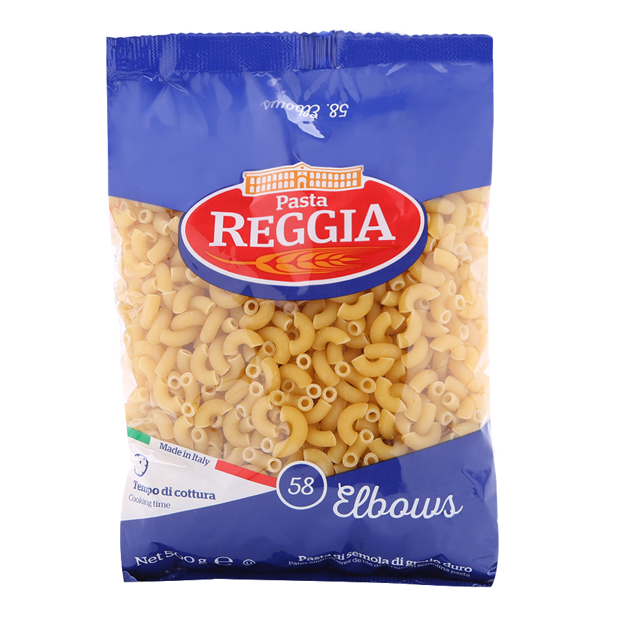 Nui Ý Ống Cong 58 Pasta Reggia 500g - 1729621 , 8679604663205 , 62_12082438 , 27000 , Nui-Y-Ong-Cong-58-Pasta-Reggia-500g-62_12082438 , tiki.vn , Nui Ý Ống Cong 58 Pasta Reggia 500g
