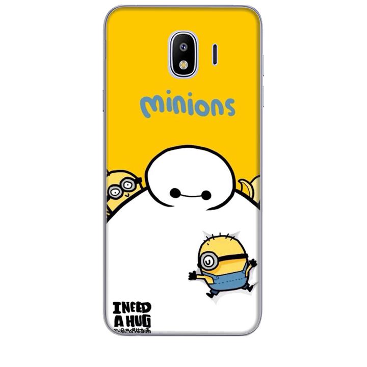 Ốp lưng dành cho điện thoại  SAMSUNG GALAXY J4 2018 hinh Big Hero Minions