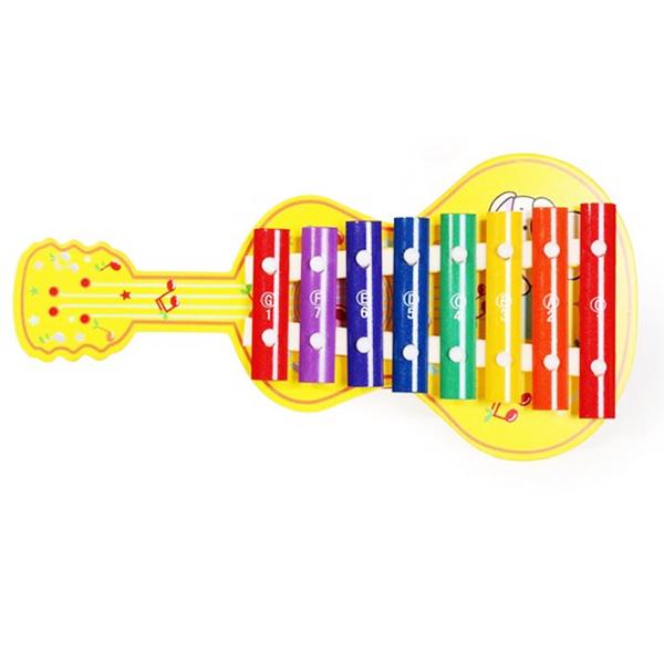 Đàn Gỗ 8 Thanh Guitar - Đồ Chơi Gỗ Phát Triển Năng Khiếu Cho Bé.