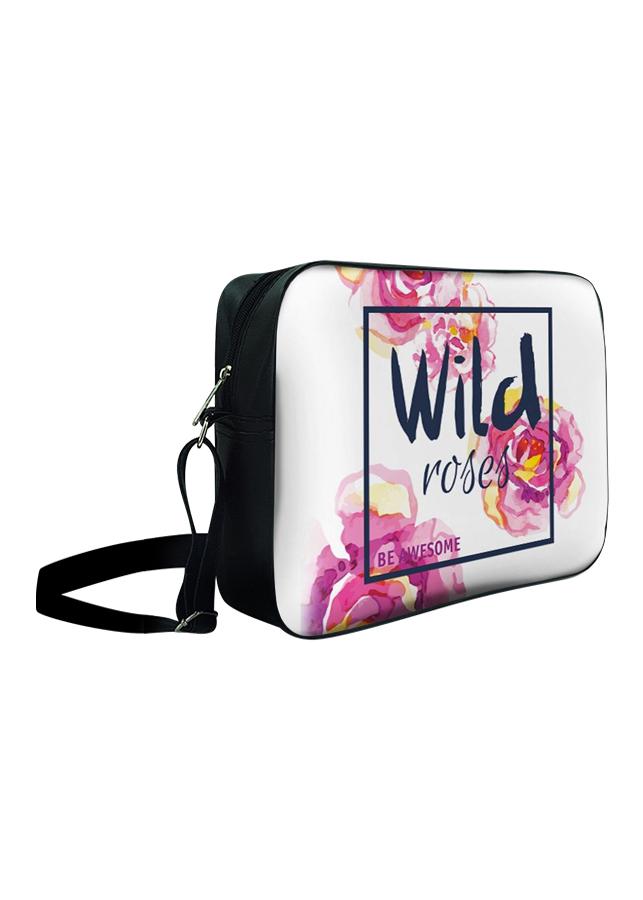 Túi Đeo Chéo Hộp Unisex Wild Roses - TCHO023