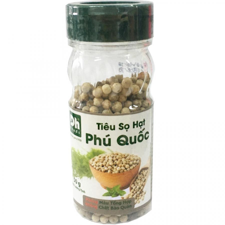 Tiêu sọ hạt Phú Quốc 50gr Dh Foods