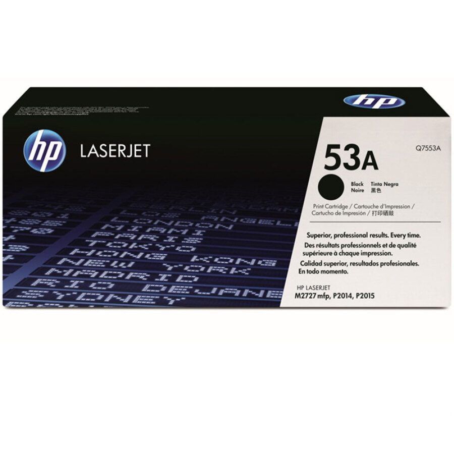 Hộp mực đen HP LaserJet Q7553A 53A