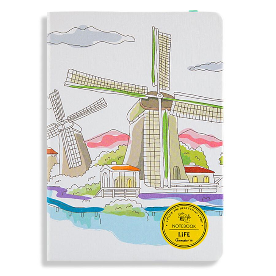 Sổ Da GuangBo 36K120 GBP36737 (Hình ngẫu nhiên)