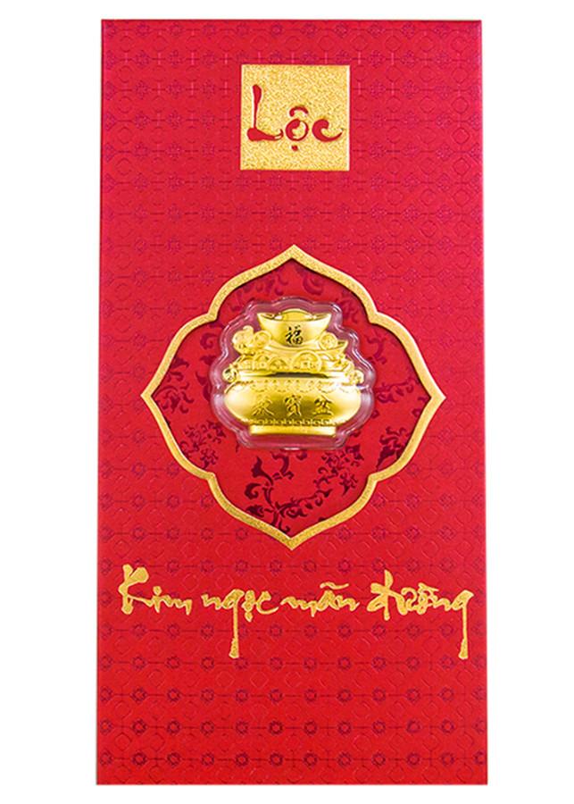 Bao Lì Xì Vàng 24K Kim Ngọc Mãn Đường Ancarat