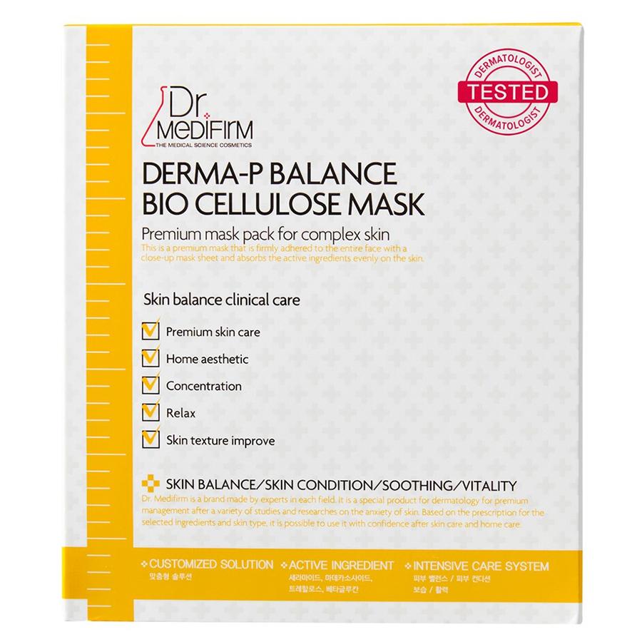 Mặt Nạ Cellulose Dr.Medifirm Dành Cho Da Nhạy Cảm MM35 (30g x 5 Miếng)