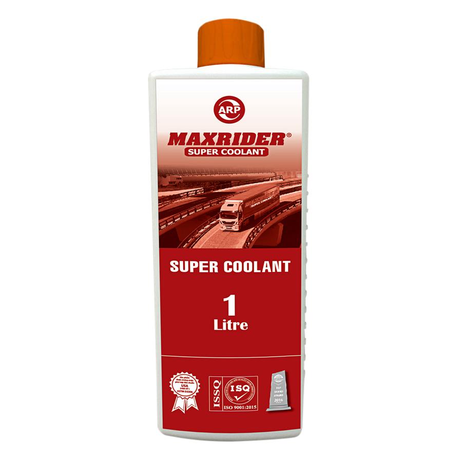 Dung Dịch Làm Mát Động Cơ Super Coolant Màu Đỏ Maxrider (1L)