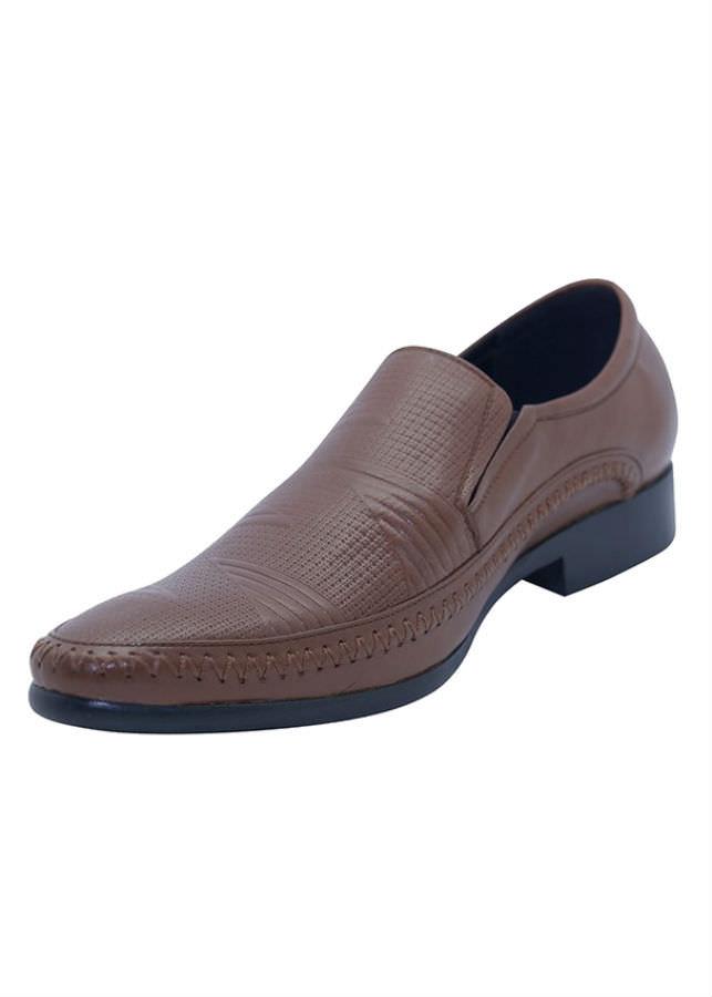 Giày Tây Nam Da Bò G177N - Nâu