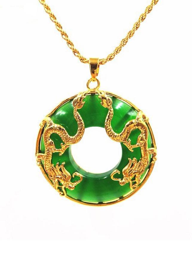 Mặt dây chuyền phong thủy ngọc bích đôi Rồng vàng - 845068 , 8437785213790 , 62_14341994 , 450000 , Mat-day-chuyen-phong-thuy-ngoc-bich-doi-Rong-vang-62_14341994 , tiki.vn , Mặt dây chuyền phong thủy ngọc bích đôi Rồng vàng