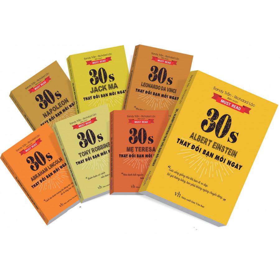 """Bộ sách Truyền Cảm Hứng """"30S Thay đổi cuộc đời"""" (07 Cuốn) - 1595523 , 8388214864161 , 62_11511119 , 686000 , Bo-sach-Truyen-Cam-Hung-30S-Thay-doi-cuoc-doi-07-Cuon-62_11511119 , tiki.vn , Bộ sách Truyền Cảm Hứng """"30S Thay đổi cuộc đời"""" (07 Cuốn)"""