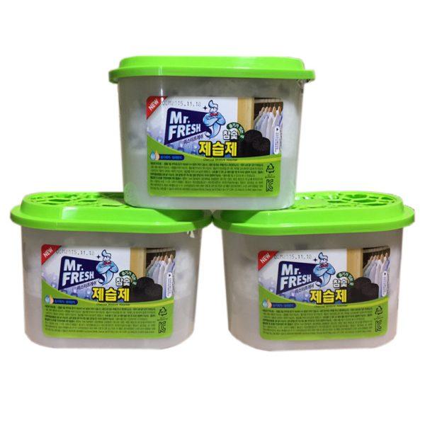 Bộ 3 bình hút ẩm than hoạt tính Mr Fresh - Korea 256g - 991008 , 2093304771293 , 62_2622723 , 180000 , Bo-3-binh-hut-am-than-hoat-tinh-Mr-Fresh-Korea-256g-62_2622723 , tiki.vn , Bộ 3 bình hút ẩm than hoạt tính Mr Fresh - Korea 256g