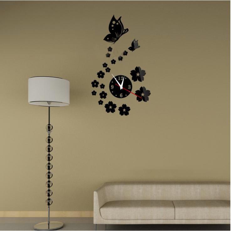 Đồng hồ 3d treo tường bướm - 2099643 , 2073739271018 , 62_15339046 , 250000 , Dong-ho-3d-treo-tuong-buom-62_15339046 , tiki.vn , Đồng hồ 3d treo tường bướm