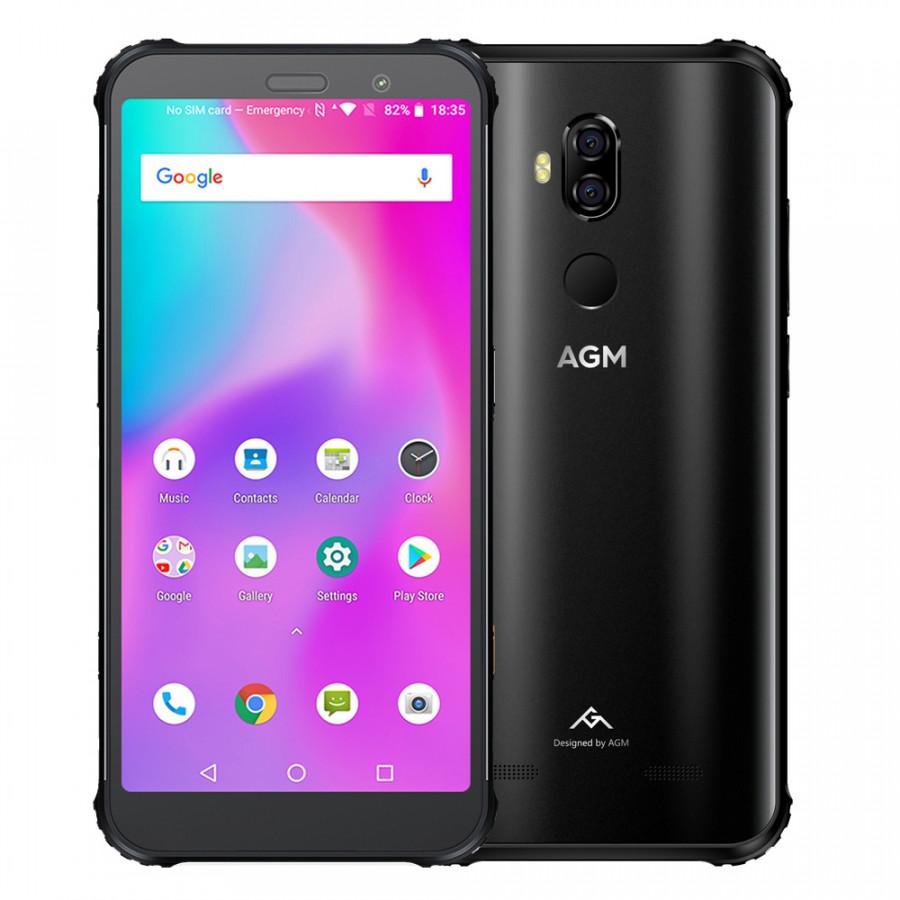 (EU Version) AGM X3 Rugged Mobile Phone 8GB+256GB IP68 Waterproof 5.99Inch FHD+ 18:9 Display Snapdragon 845 8-core