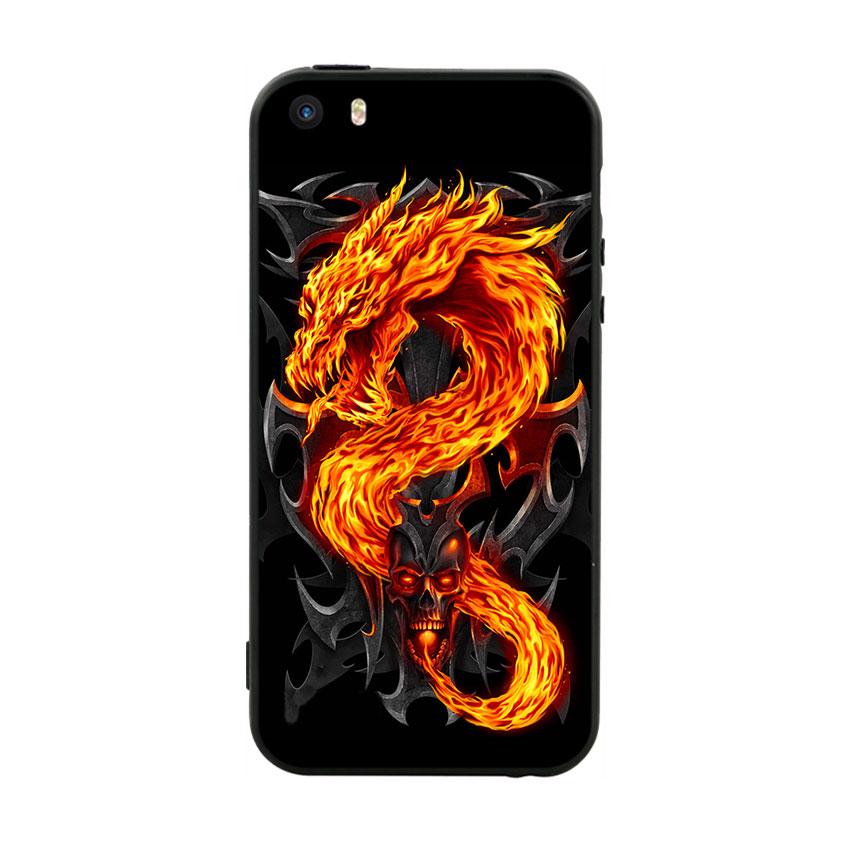 Ốp Lưng Viền TPU Cao Cấp Dành Cho iPhone 5/5s - Fire Dragon - 1082748 , 5557529374877 , 62_14794002 , 200000 , Op-Lung-Vien-TPU-Cao-Cap-Danh-Cho-iPhone-5-5s-Fire-Dragon-62_14794002 , tiki.vn , Ốp Lưng Viền TPU Cao Cấp Dành Cho iPhone 5/5s - Fire Dragon