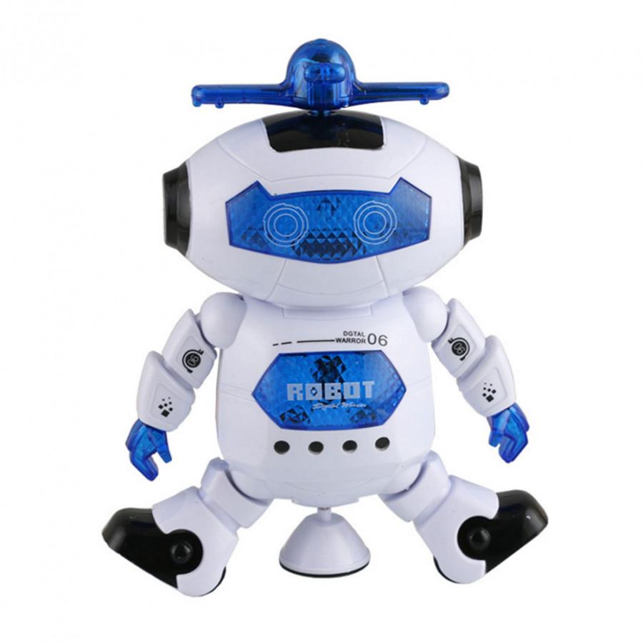 Dancing Flashing Toy Electronic Robots Walking Gift Smart Space Educational Kids - 835486 , 8509373322914 , 62_12313957 , 392000 , Dancing-Flashing-Toy-Electronic-Robots-Walking-Gift-Smart-Space-Educational-Kids-62_12313957 , tiki.vn , Dancing Flashing Toy Electronic Robots Walking Gift Smart Space Educational Kids