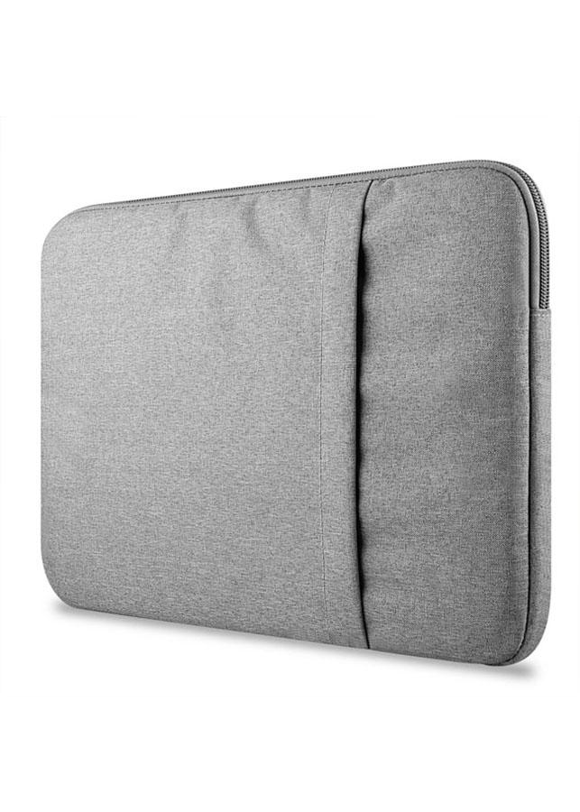Túi chống sốc Macbook lót lông mềm cao cấp 13 inch (Ghi Xám)