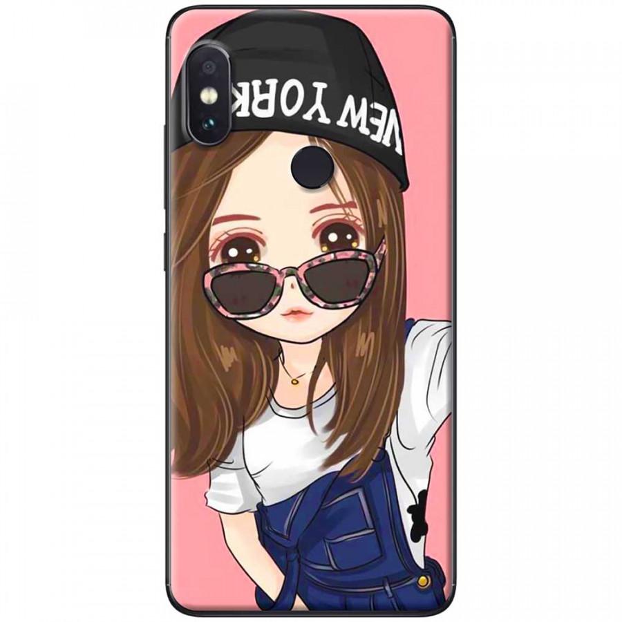 Ốp lưng dành cho Xiaomi Redmi Note 6 mẫu Em đeo kính