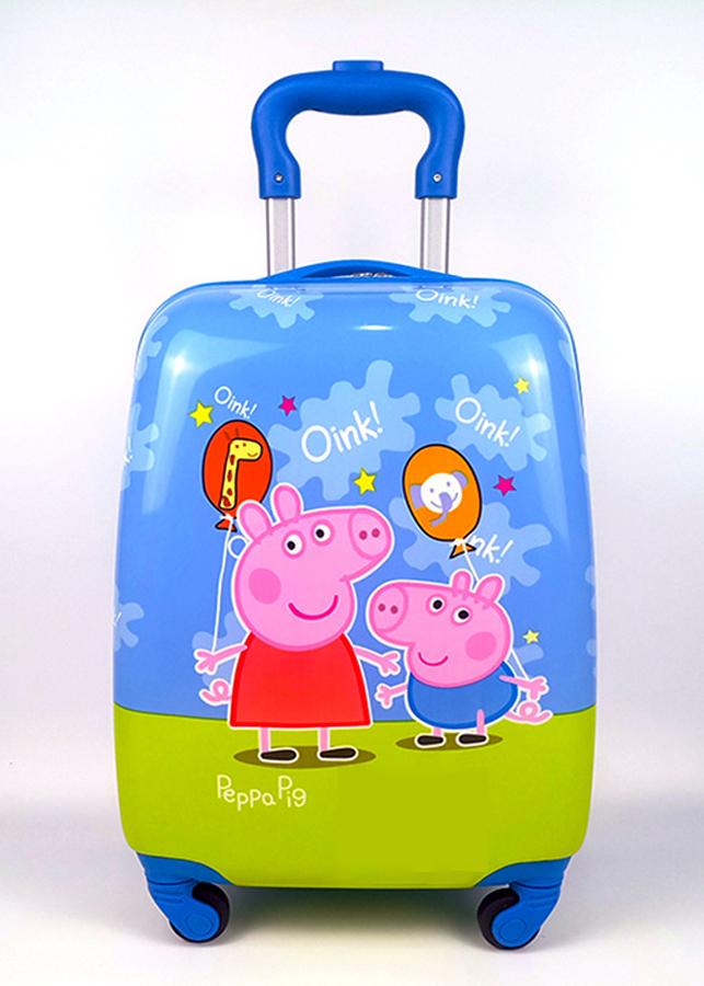 Vali 3D trẻ em nhiều hình  SL13 tặng thẻ hành lý