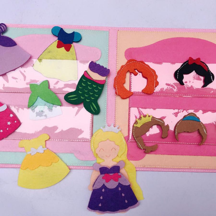 Sách vải công chúa Disney