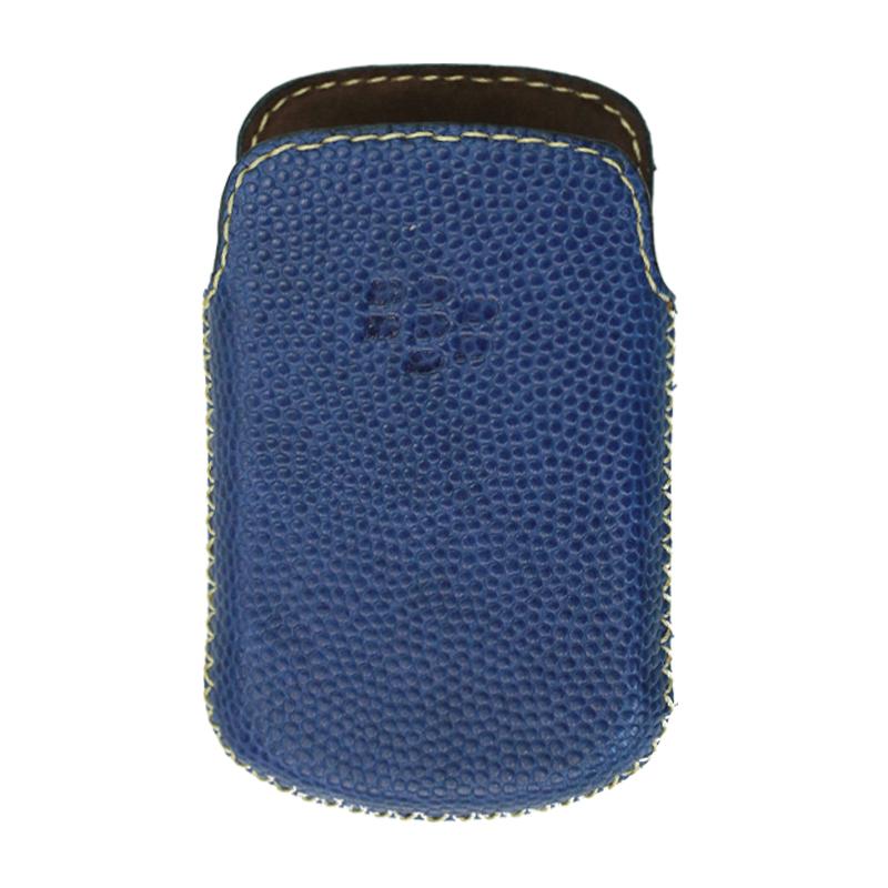 Bao Da Rút Dành Cho Blackberry Bold 9900 - 9930 Màu Xanh Navy