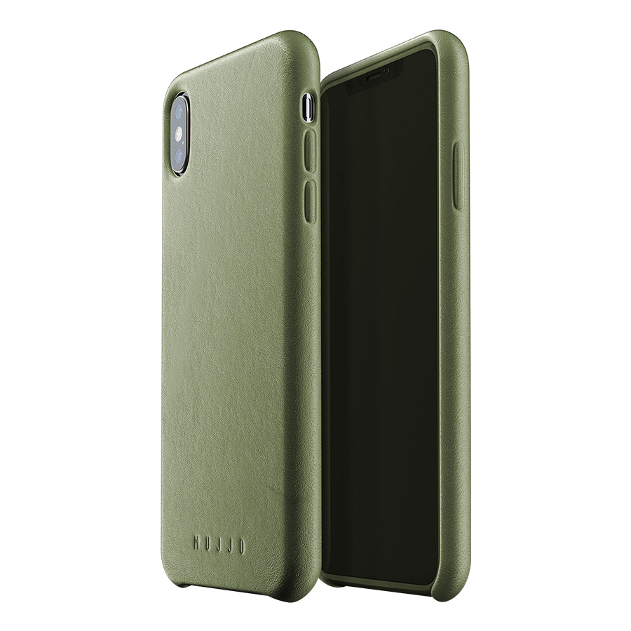 Ốp Lưng Bằng Da Dành Cho iPhone XS Max Mujjo