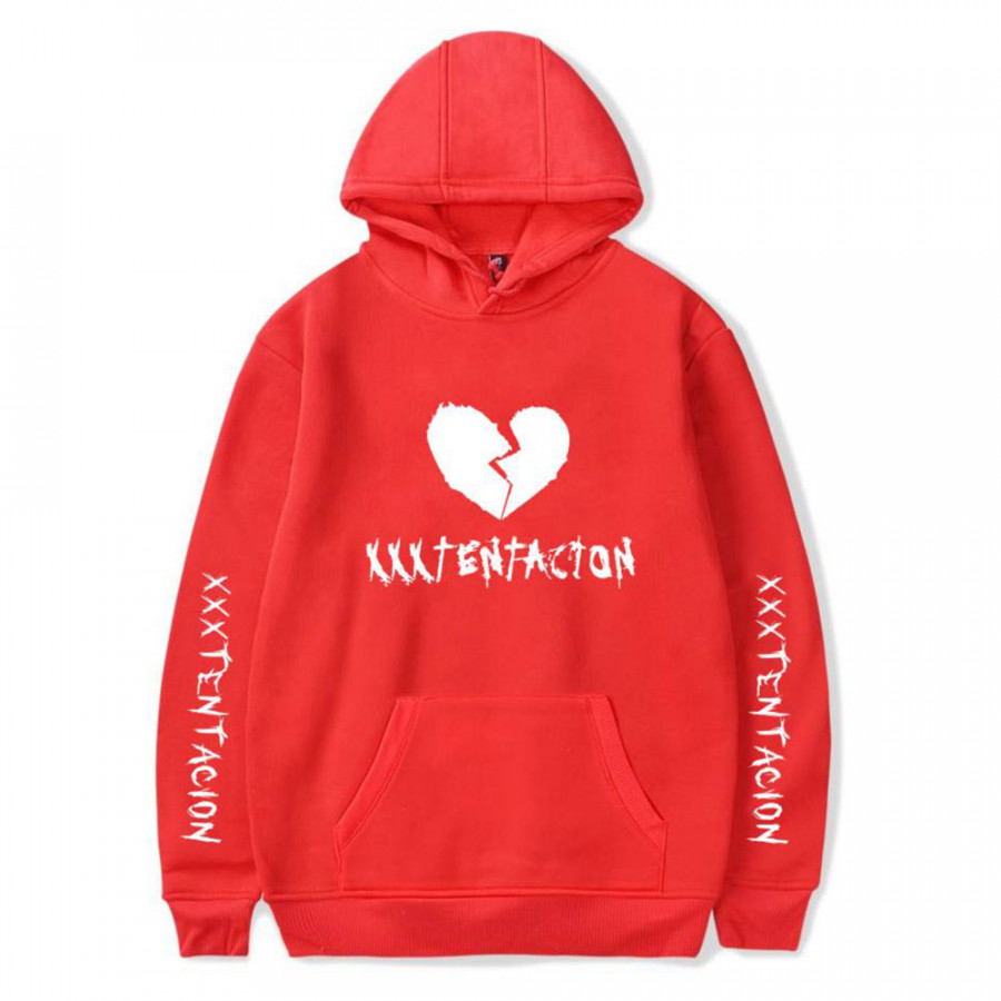 Hooded Sweatshirt Sweats Cotton Heart Spring Breathable