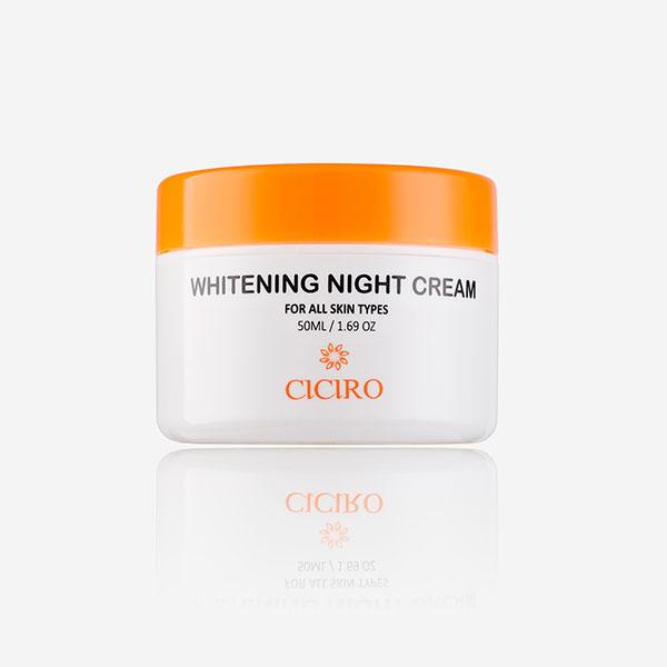 Kem dưỡng trắng da ban đêm – Whitening Night Cream Ciciro - 1431509 , 2661109498730 , 62_7463443 , 595000 , Kem-duong-trang-da-ban-dem-Whitening-Night-Cream-Ciciro-62_7463443 , tiki.vn , Kem dưỡng trắng da ban đêm – Whitening Night Cream Ciciro