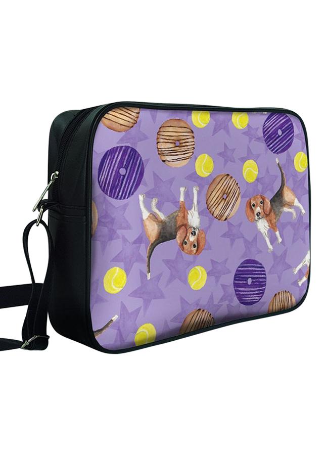 Túi Chéo Hộp Chó Và Bánh Donut - TCHT062