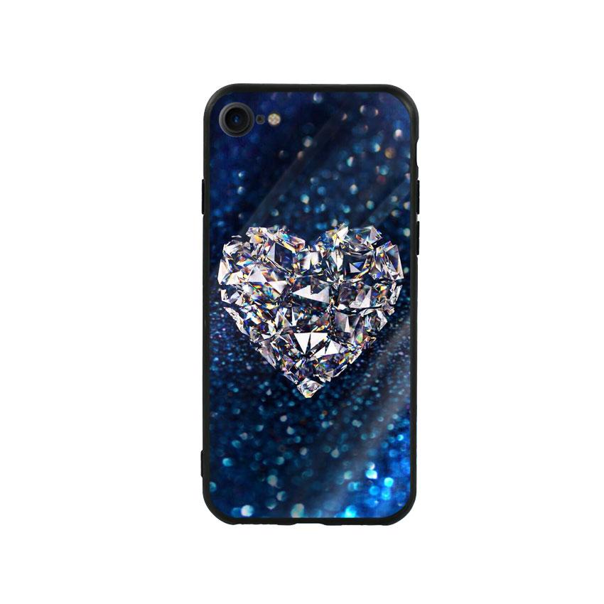 Ốp Lưng Kính Cường Lực cho điện thoại Iphone 7 / 8 - Heart 11