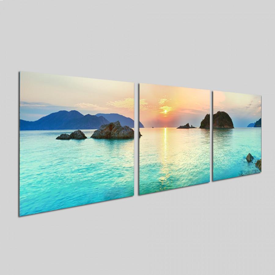 Bộ tranh 3 tấm phong cảnh biển tuyệt đẹp - tranh gỗ treo tường - dạng hình vuông từng tấm - 2148297 , 3091913429115 , 62_13698642 , 750000 , Bo-tranh-3-tam-phong-canh-bien-tuyet-dep-tranh-go-treo-tuong-dang-hinh-vuong-tung-tam-62_13698642 , tiki.vn , Bộ tranh 3 tấm phong cảnh biển tuyệt đẹp - tranh gỗ treo tường - dạng hình vuông từng tấm