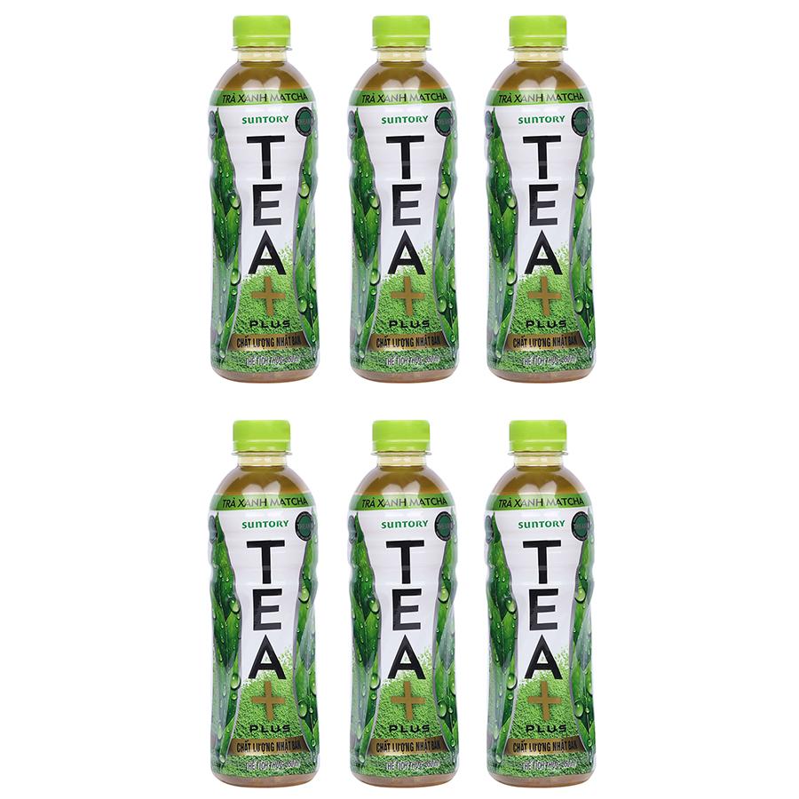 Combo 6 Chai Trà Xanh Matcha Tea + Plus Chai 350ml - 1686392 , 6026821931907 , 62_11756323 , 37800 , Combo-6-Chai-Tra-Xanh-Matcha-Tea-Plus-Chai-350ml-62_11756323 , tiki.vn , Combo 6 Chai Trà Xanh Matcha Tea + Plus Chai 350ml