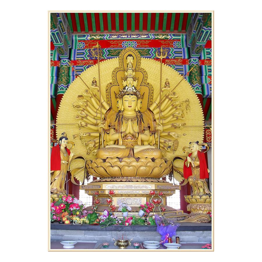 Tranh Phật Giáo Dán Tường - Mã 13