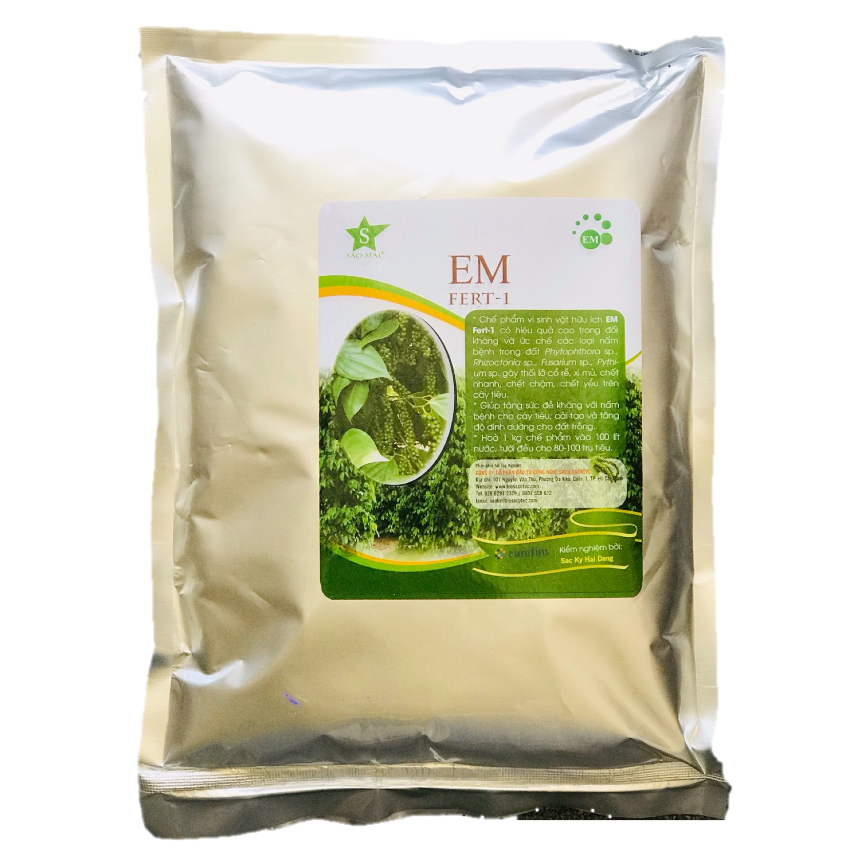 Chế phẩm gốc EM Fert-1 túi 1kg tập hợp các chủng vi sinh vật hữu ích, có tác dụng phân huỷ mạnh chất thải hữu... - 20148608 , 3885206183422 , 62_28364716 , 137000 , Che-pham-goc-EM-Fert-1-tui-1kg-tap-hop-cac-chung-vi-sinh-vat-huu-ich-co-tac-dung-phan-huy-manh-chat-thai-huu...-62_28364716 , tiki.vn , Chế phẩm gốc EM Fert-1 túi 1kg tập hợp các chủng vi sinh vật hữu