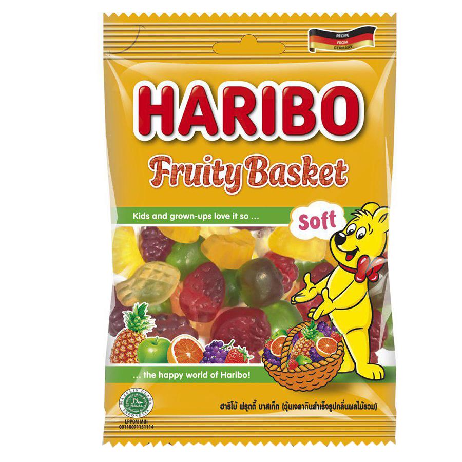 Kẹo Dẻo Haribo Fruity Basket (80g) - 915094 , 8691216090460 , 62_1751499 , 24000 , Keo-Deo-Haribo-Fruity-Basket-80g-62_1751499 , tiki.vn , Kẹo Dẻo Haribo Fruity Basket (80g)