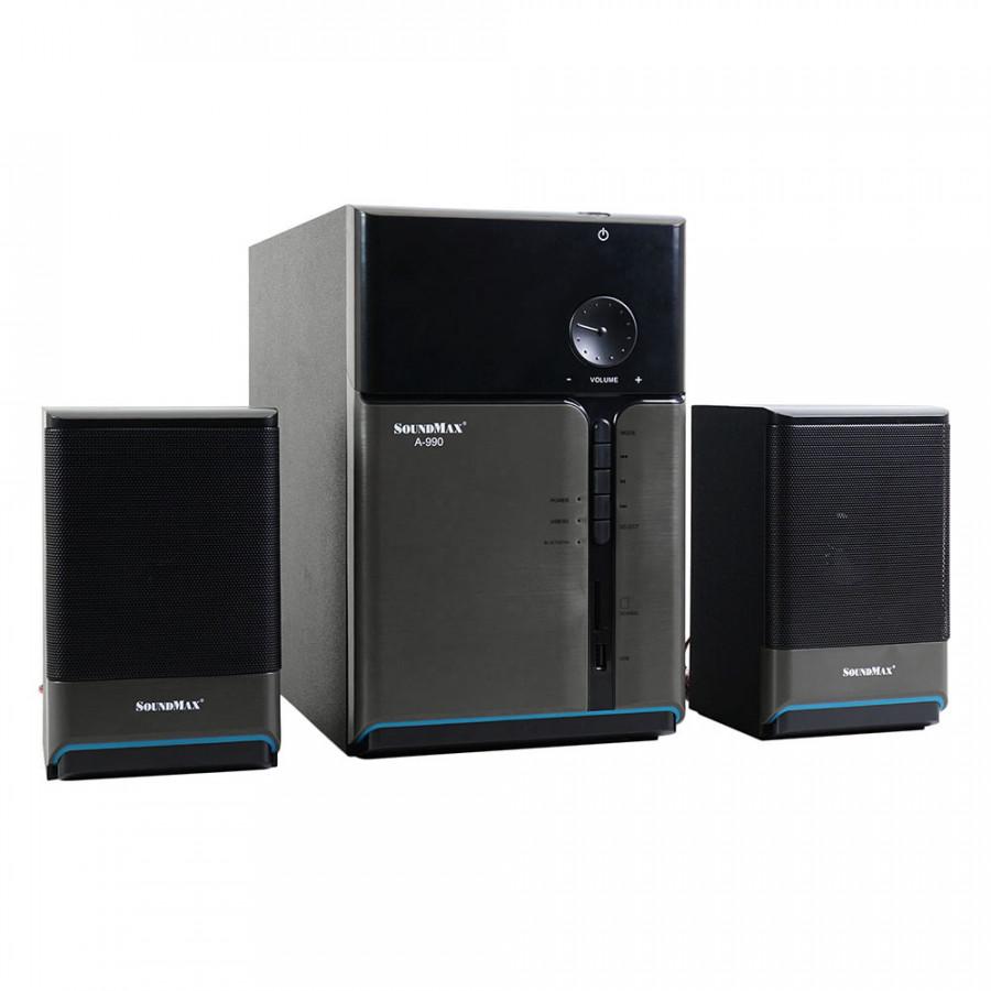 Loa Vi Tính SoundMax A-990/2.1 50W Tích Hợp Bluetooth 4.0 - Hàng Chính Hãng - 9396717 , 4153623342463 , 62_6683517 , 1270000 , Loa-Vi-Tinh-SoundMax-A-990-2.1-50W-Tich-Hop-Bluetooth-4.0-Hang-Chinh-Hang-62_6683517 , tiki.vn , Loa Vi Tính SoundMax A-990/2.1 50W Tích Hợp Bluetooth 4.0 - Hàng Chính Hãng