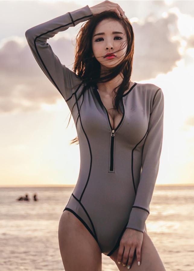 Bộ đồ bơi nữ Bikini liền thân dài tay SME001-18004 - 2308852 , 7055534831487 , 62_14868426 , 650000 , Bo-do-boi-nu-Bikini-lien-than-dai-tay-SME001-18004-62_14868426 , tiki.vn , Bộ đồ bơi nữ Bikini liền thân dài tay SME001-18004