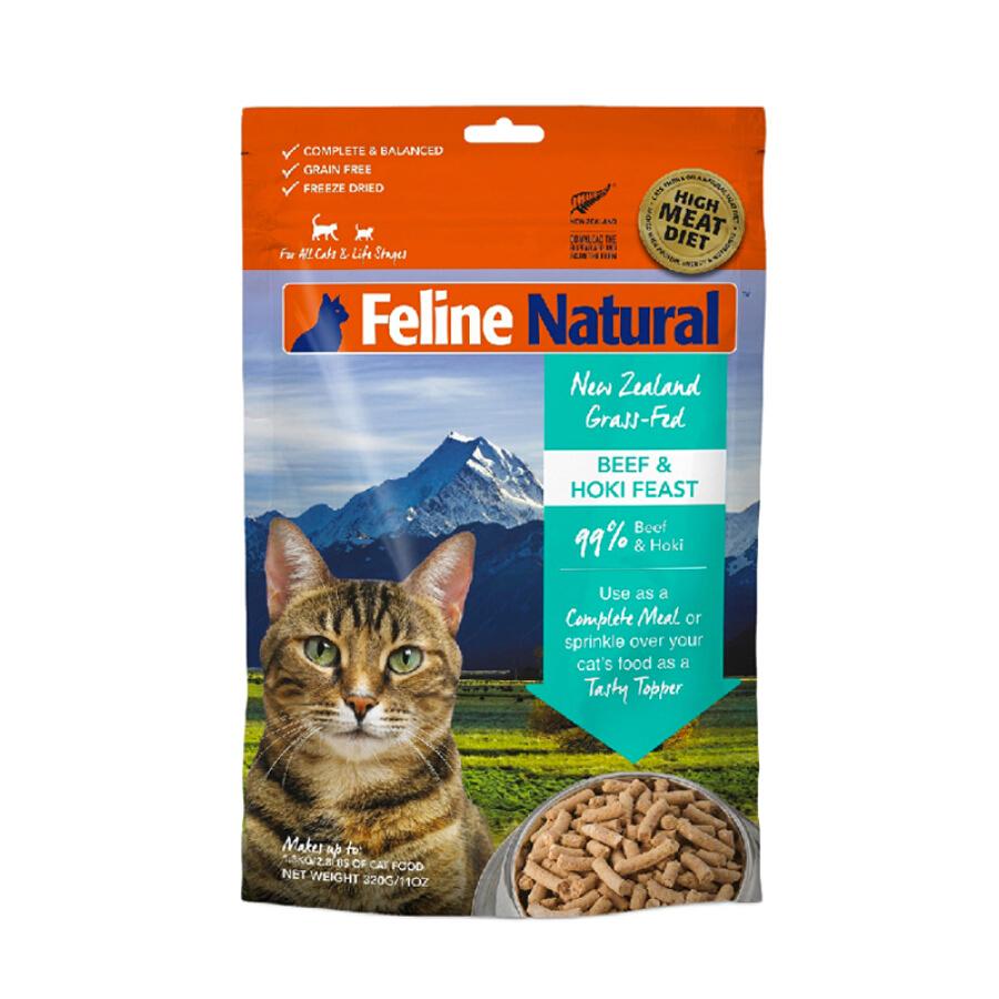 Thức Ăn Khô Cho Mèo Vị Bò K9 Natural - Hàng Nhập Khẩu (320g)