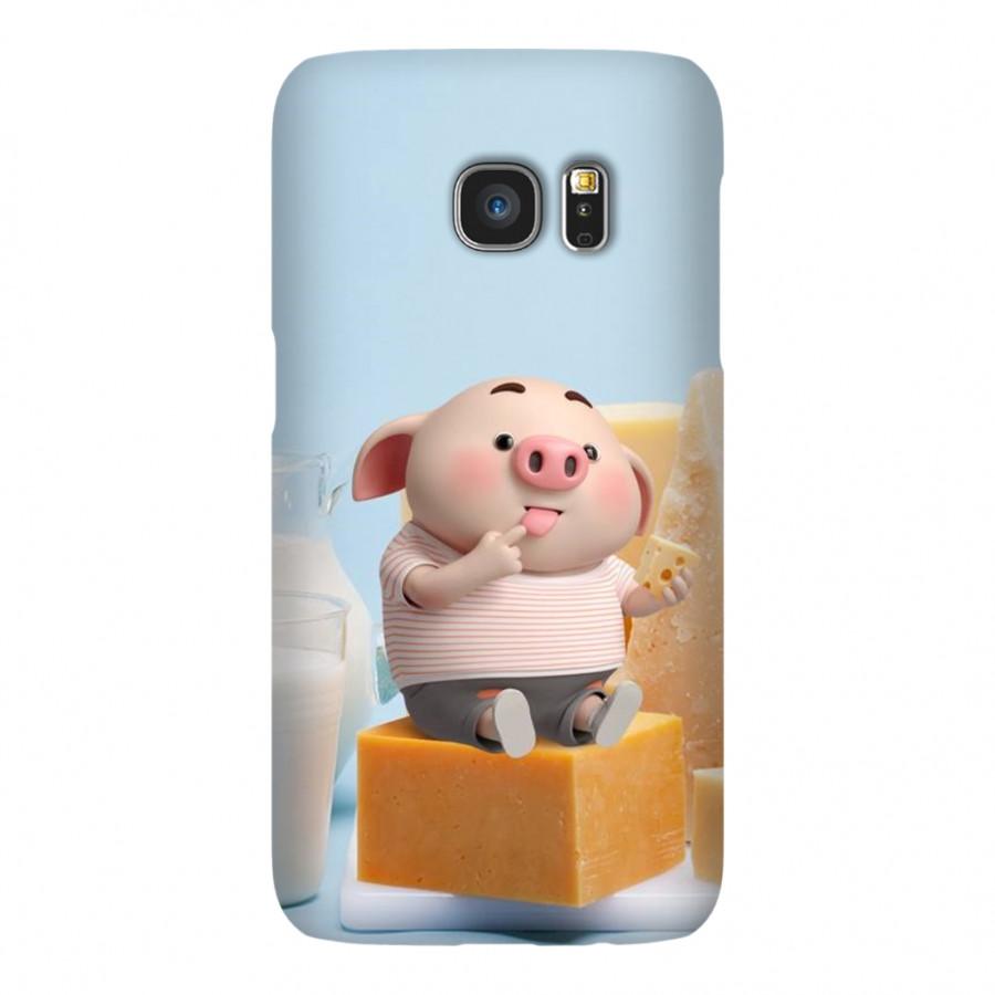 Ốp Lưng Cho Điện Thoại Samsung Galaxy S7 - Mẫu heocon 141
