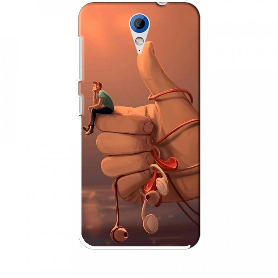 Ốp lưng dành cho điện thoại HTC 620 Cô Đơn Mình Anh