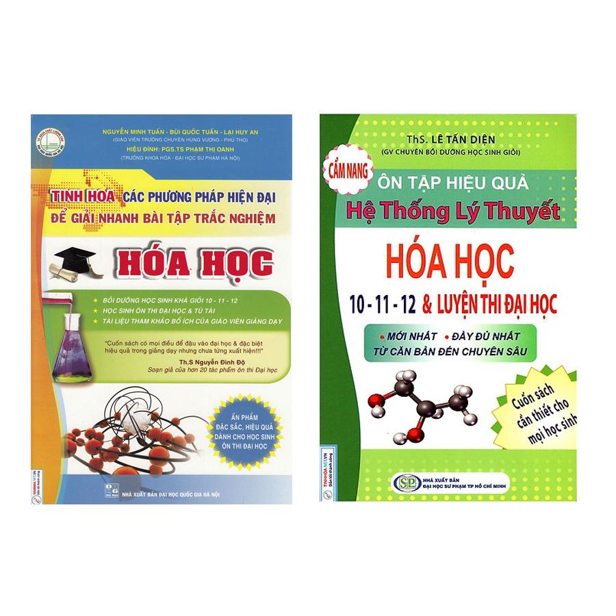 Combo 2 Cuốn Hóa Học: Tinh Hoa Các Phương Pháp Hiện Đại Để Giải Nhanh Bài Tập Trắc Nghiệm Hóa Học + Cẩm Nang Ôn... - 792540 , 9390376835490 , 62_15050914 , 234000 , Combo-2-Cuon-Hoa-Hoc-Tinh-Hoa-Cac-Phuong-Phap-Hien-Dai-De-Giai-Nhanh-Bai-Tap-Trac-Nghiem-Hoa-Hoc-Cam-Nang-On...-62_15050914 , tiki.vn , Combo 2 Cuốn Hóa Học: Tinh Hoa Các Phương Pháp Hiện Đại Để Giải Nh