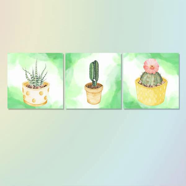 """Bộ 3 Tranh Canvas Viền Composite Treo Tường """"Chậu Xương Rồng"""" W540 - 1046070 , 6598632123937 , 62_6400849 , 1244000 , Bo-3-Tranh-Canvas-Vien-Composite-Treo-Tuong-Chau-Xuong-Rong-W540-62_6400849 , tiki.vn , Bộ 3 Tranh Canvas Viền Composite Treo Tường """"Chậu Xương Rồng"""" W540"""