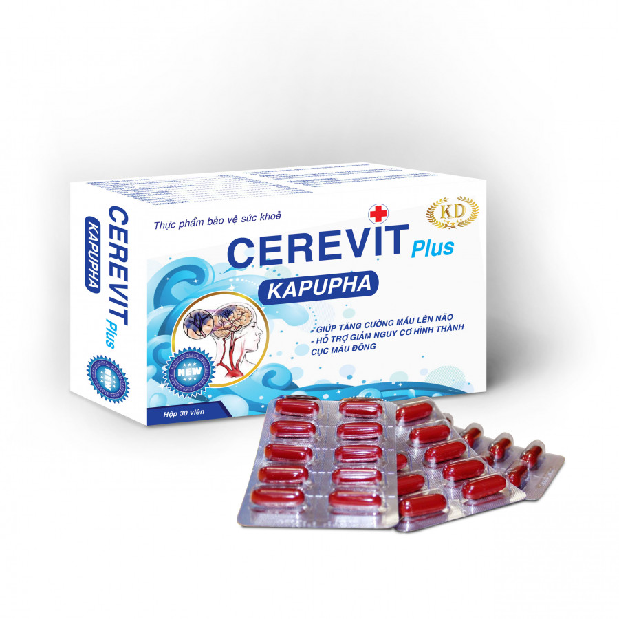 Cerevit Plus KAPUPHA - 782331 , 4804232933824 , 62_11737408 , 145000 , Cerevit-Plus-KAPUPHA-62_11737408 , tiki.vn , Cerevit Plus KAPUPHA