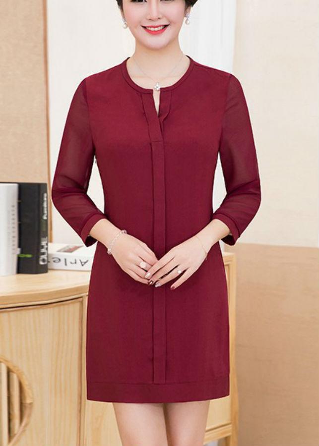 Đầm Nữ Tay Lỡ Voan DRESS159N
