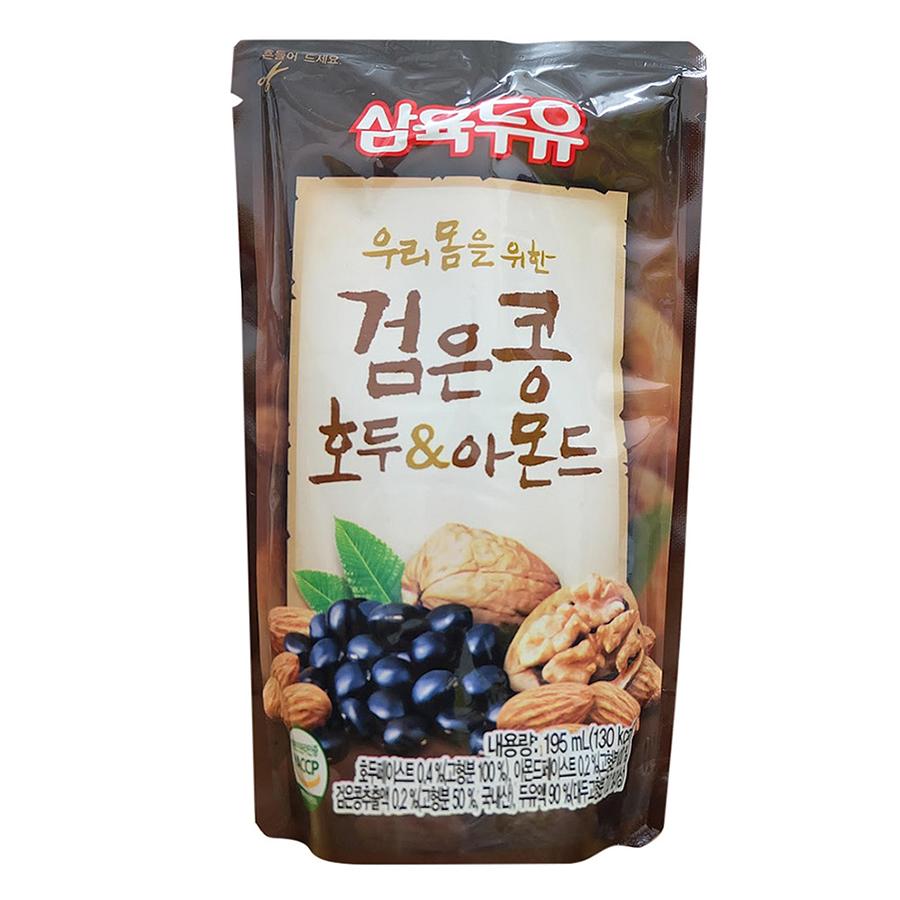 Túi Sữa Đậu Đen, Óc Chó, Hạnh Nhân Sahmyook Foods (195ml/Túi) - 1063623 , 8801136361759 , 62_3601973 , 21000 , Tui-Sua-Dau-Den-Oc-Cho-Hanh-Nhan-Sahmyook-Foods-195ml-Tui-62_3601973 , tiki.vn , Túi Sữa Đậu Đen, Óc Chó, Hạnh Nhân Sahmyook Foods (195ml/Túi)
