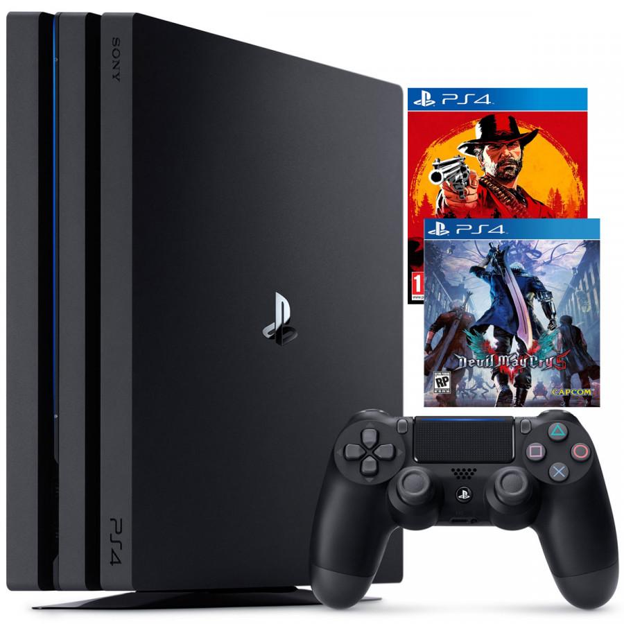 Bộ PS4 Pro 1TB Kèm 2 Game Đỉnh Nhất 2018 - Red Dead Redemption 2 - Devil may Cry 5  - Hàng Chính Hãng - 1735912 , 2053772471101 , 62_12195751 , 11990000 , Bo-PS4-Pro-1TB-Kem-2-Game-Dinh-Nhat-2018-Red-Dead-Redemption-2-Devil-may-Cry-5-Hang-Chinh-Hang-62_12195751 , tiki.vn , Bộ PS4 Pro 1TB Kèm 2 Game Đỉnh Nhất 2018 - Red Dead Redemption 2 - Devil may Cry