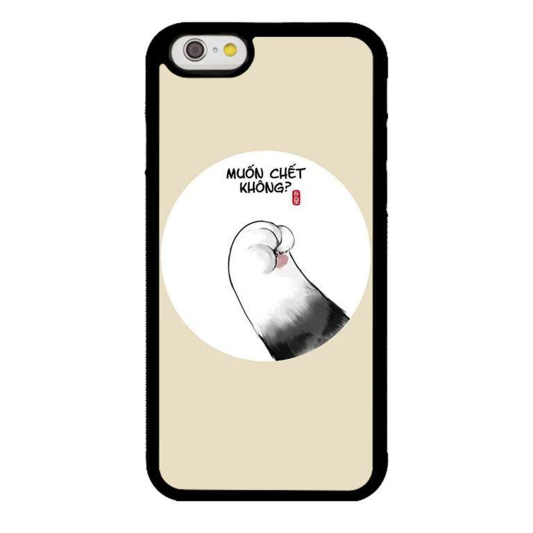 Ốp lưng dành cho điện thoại Iphone 6s Muốn Chết Không
